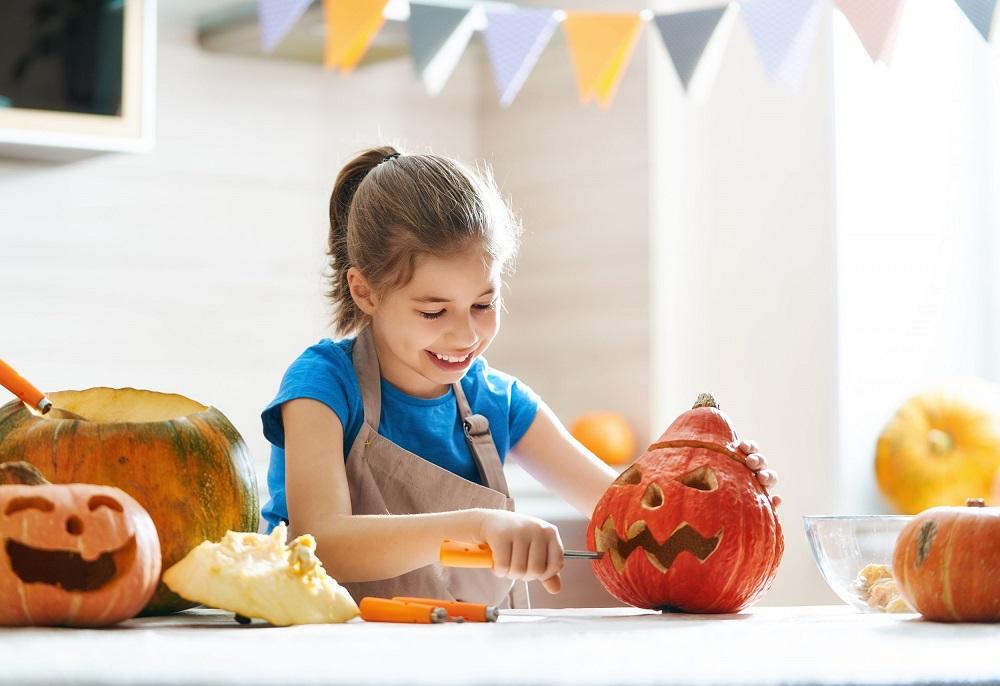 What are Halloween activities - pumpkin decorating