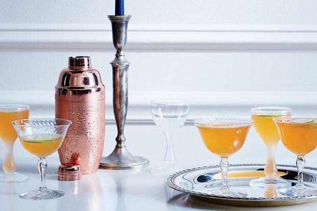 Saint-Florent Cocktail- classic Thanksgiving drinks