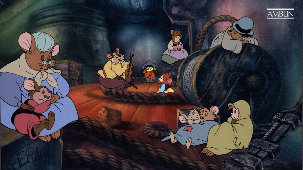 Best Thanksgiving animated movies - An American Tail