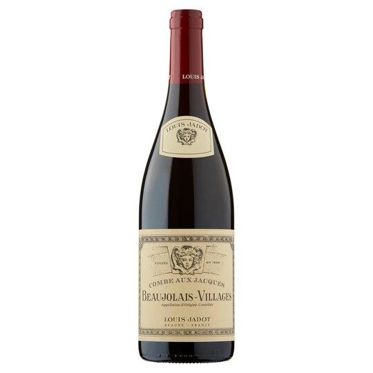 Beaujolais- Louis Jadot Beaujolais-Villages- best type of wine for Thanksgiving dinner