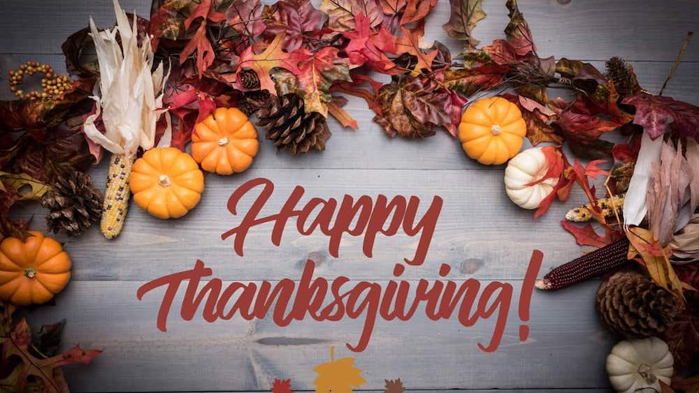 Best Thanksgiving Messages from The Bible