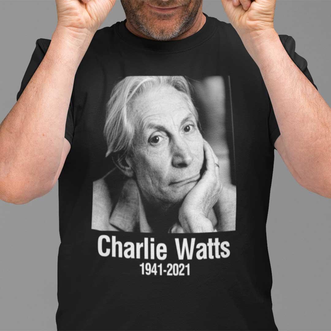 Charlie Watts 1941- 2021 T Shirt