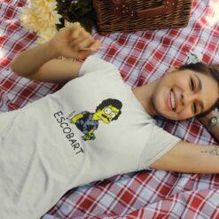 Escobart Shirt Bart Simpson Narcos Style