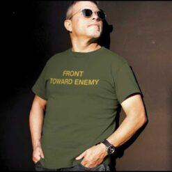 Front Toward Enemy Shirt Claymore Mine mock