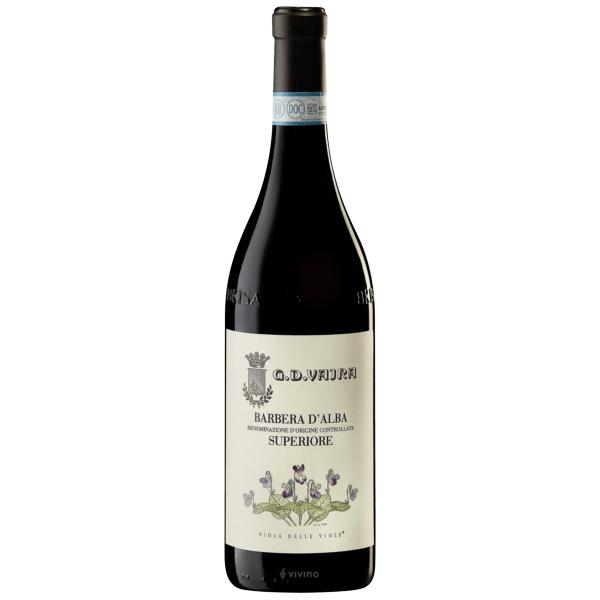 G.D. Vajra Barbera d'Alba- best red wine for Thanksgiving.