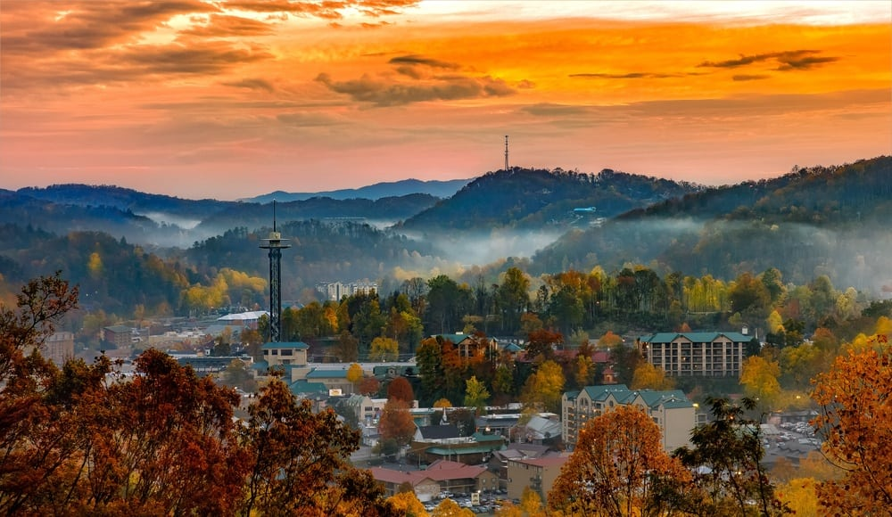 Gatlinburg, Tennessee- cheap Thanksgiving vacations