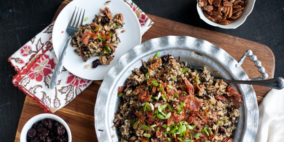 Gluten-Free Wild Rice Stuffing- cool food ideas for Thanksgiving