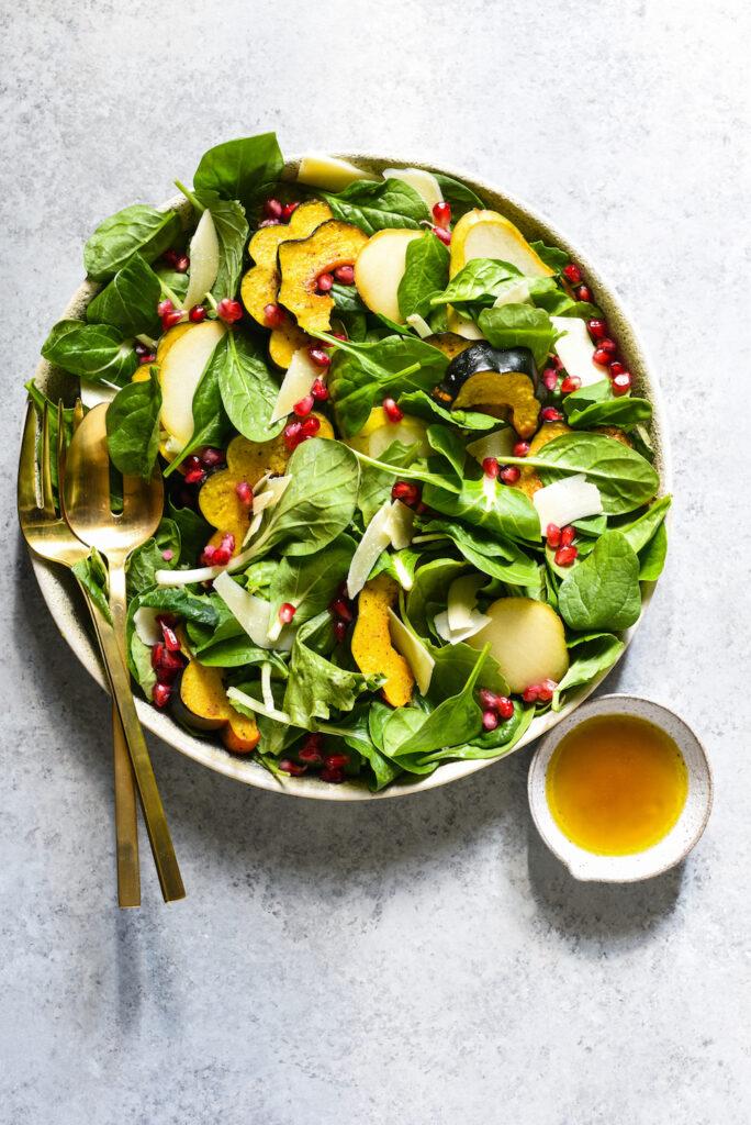 Good Thanksgiving salad- best green salad for Thanksgiving