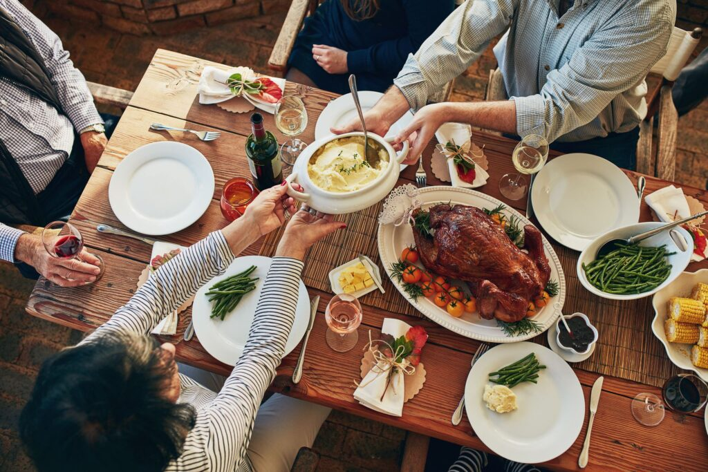How is Thanksgiving Day in Australia celebrated?