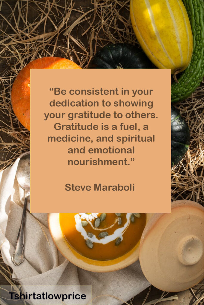 Inspirational Thanksgiving Sentiments Quotes