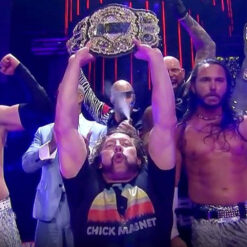 Kenny Omega Referenced CM Punk Wearing Chick Magnet Shirt