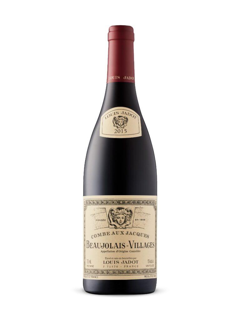 Louis Jadot Beaujolais Villages 2019- best type of wine for Thanksgiving dinner