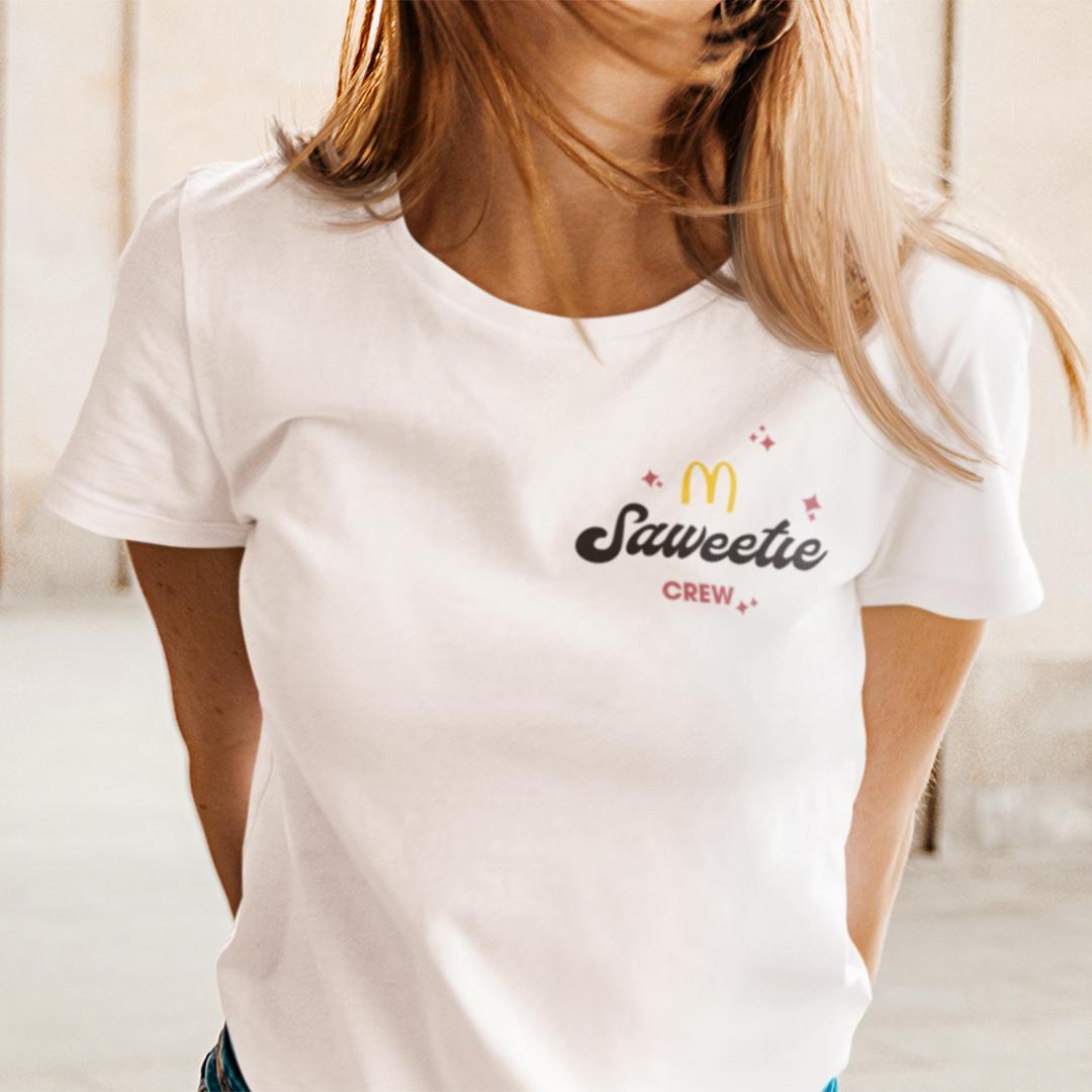 Official Saweetie McDonalds Shirt