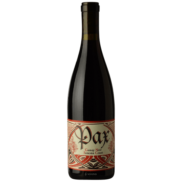 Pax Sonoma Coast Gamay 2016- best red wine for Thanksgiving