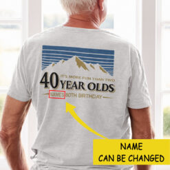 Personalized More Fun Than Two 40 Year Olds Shirt 80th Birthday