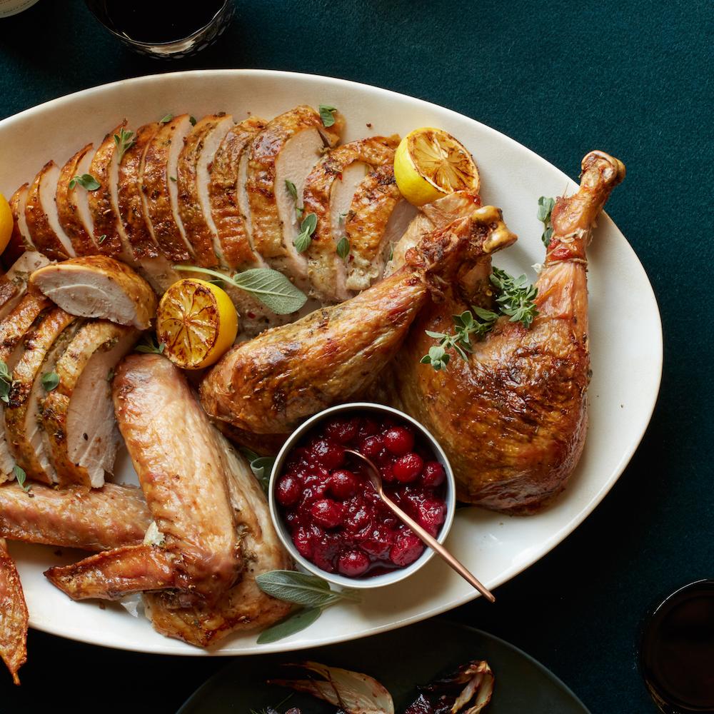Porchetta-Spiced Turkey with Pan Gravy- best roast turkey recipe for Thanksgiving
