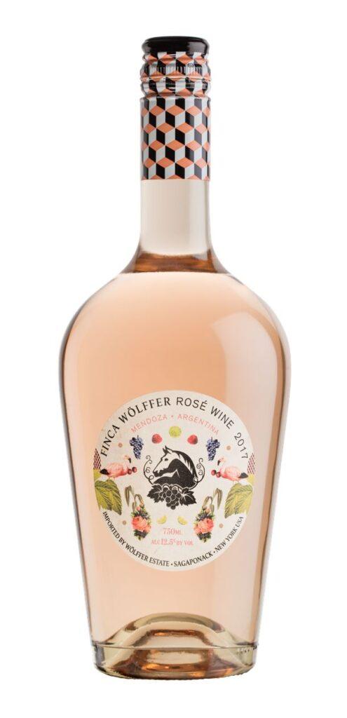 Rose Wine- Finca Wolffer Rosé Wine- best type of wine for Thanksgiving dinner