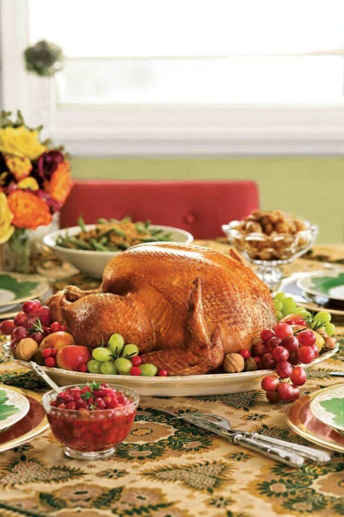 Rosemary-Sage Roast Turkey and Gravy- best roast turkey recipe for Thanksgiving