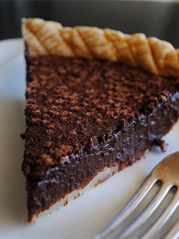 Salted Caramel–Chocolate Tart- best chocolate Thanksgiving recipes