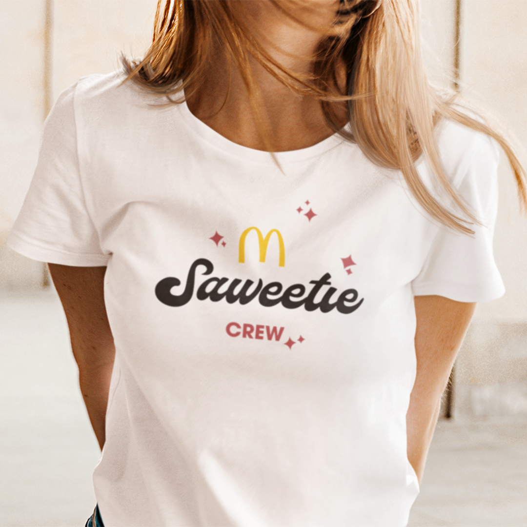 Saweetie McDonalds Shirt