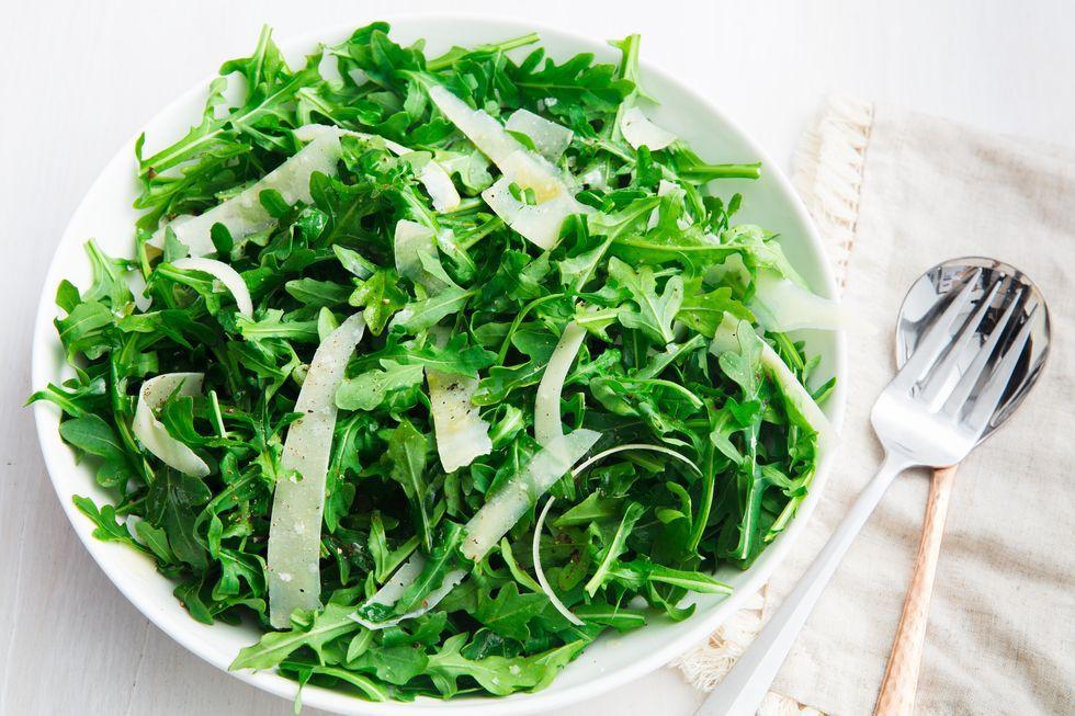 Simple Arugula Salad- best green salad for Thanksgiving