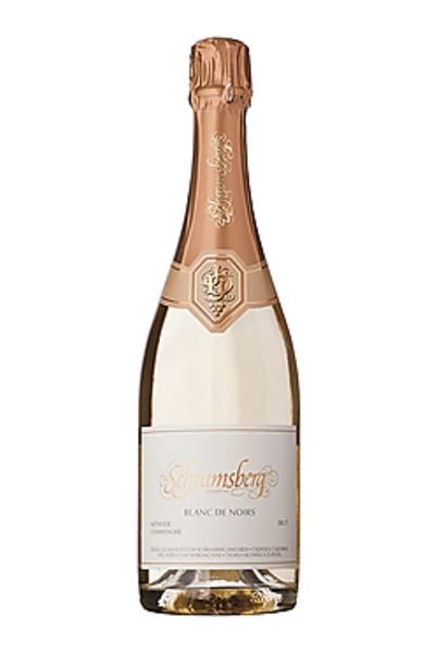 Sparkling Wine- Schramsberg Blanc de Noirs- best type of wine for Thanksgiving dinner