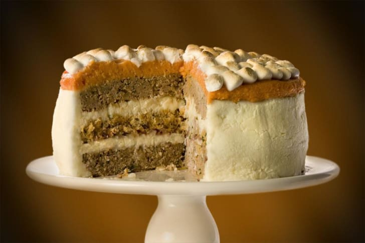 All-In-One Thanksgiving Cake