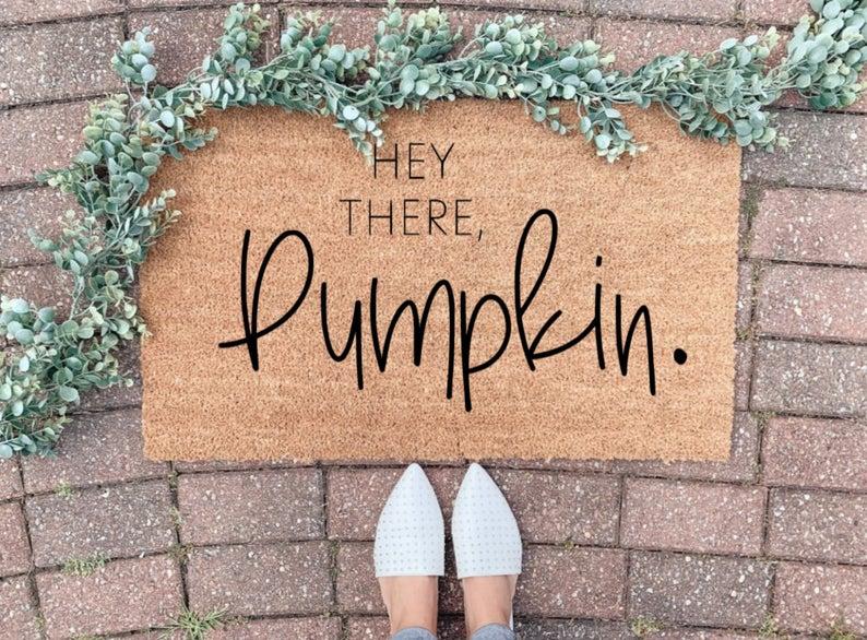 Thanksgiving Welcome Doormat
