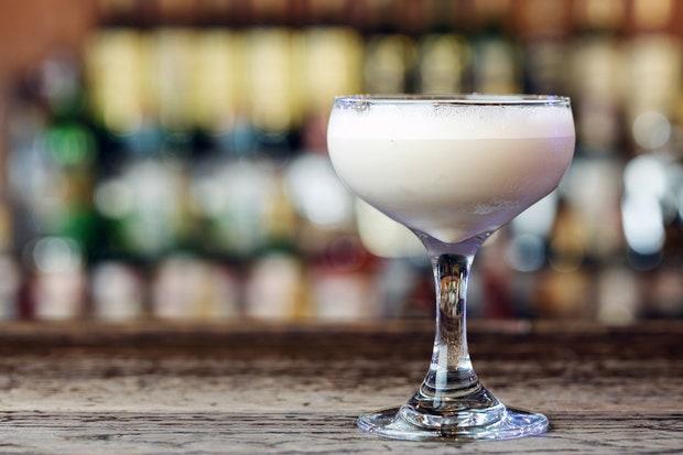Whiskey Flip- classic Thanksgiving drinks