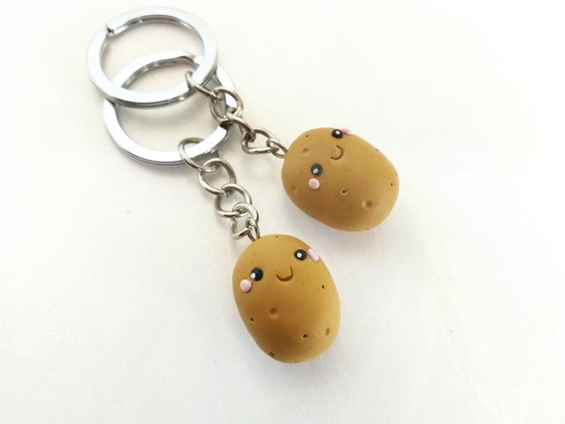 Potato Keychain