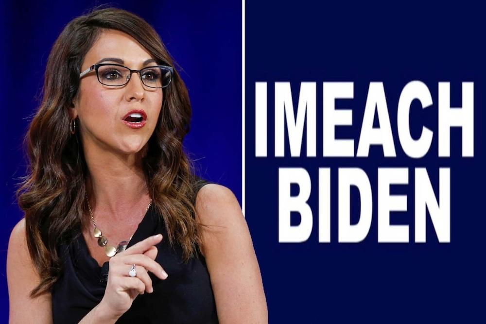 'Imeach Biden': Lauren Boebert draws attention for the call to 'imeach' Biden