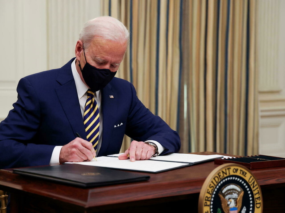 Biden travel ban on European visitors