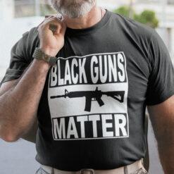 Black Guns Matter T Shirt
