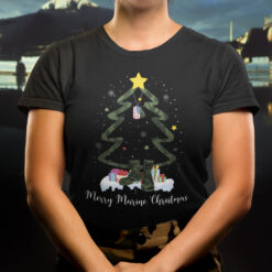 Christmas Veteran Shirt Christmas Tree