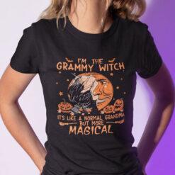 I'm The Grammy Witch Shirt Halloween