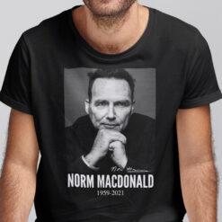 Norm Macdonald Shirt In Loving Memories 1959 2021