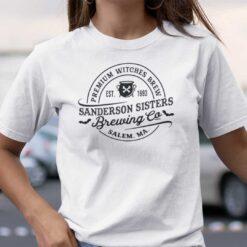 Sanderson Sisters T Shirt Brewing Co Salem Ma Halloween