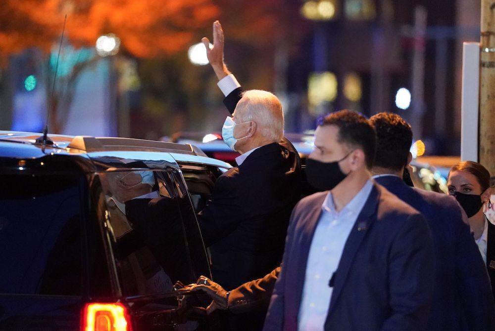 Secret service leaks about Biden. Really?