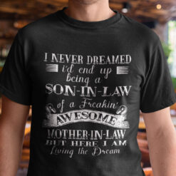 Son In Law T Shirt Awesome Mother In Law
