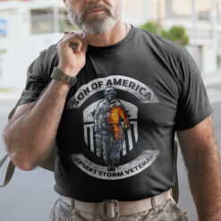 Son Of America Desert Storm Veteran Shirt