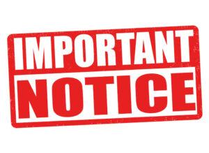2021 Holiday Deadline Information