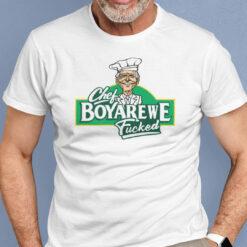 Chef Boyarewe Fucked Shirt Chef Boyardee Meme Anti Joe Biden