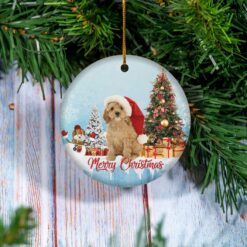 Cockapoo Christmas Ornament Cockerdoodle Dog Lover