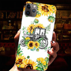 Farm Truck Sunflower Phone Case