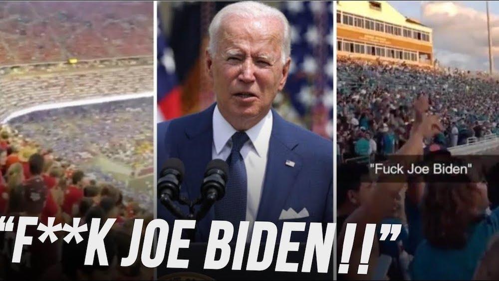Fuck Joe Biden chants- Fuck Joe Biden memes.