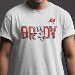 Half Patriots Half Buccaneers Shirt Brady TB12