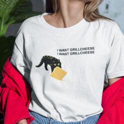 I Want Grillcheese I Want Grillcheese Shirt Black Cat