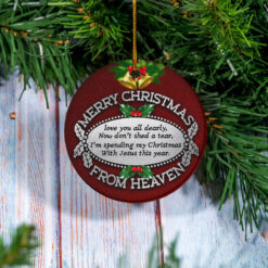 Merry Christmas I Love You All Dearly Ornament