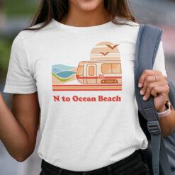 N To Ocean Beach Shirt Vacation Tee