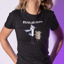 Regular Show Mordecai Rigby Shirt Friendship Tee